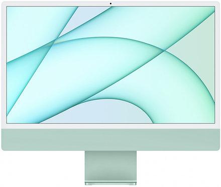 "Моноблок Apple iMac 24"" Retina 4,5K, M1 (7-core GPU), 8 ГБ, 256 ГБ (зеленый)"