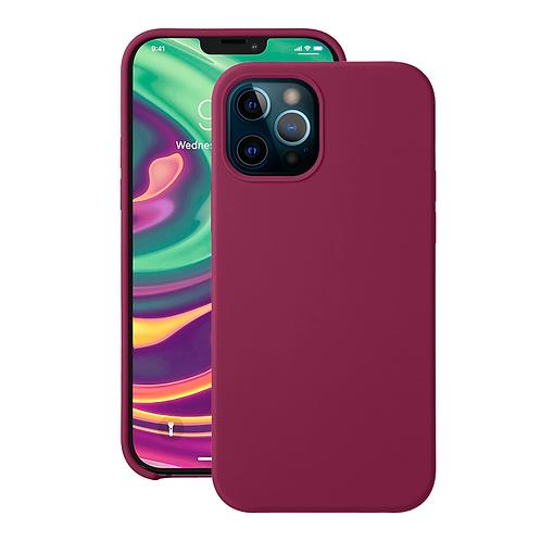 Чехол Liquid Silicone для Apple iPhone 12/12 Pro