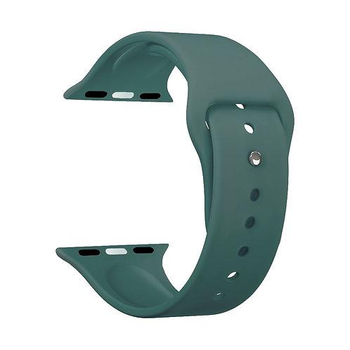 Ремешок Deppa Band Silicone для Apple Watch 42/44 mm, силиконовый, зеленый