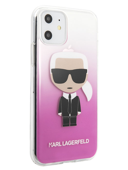 Чехол Karl Lagerfeld для iPhone 11, розовый