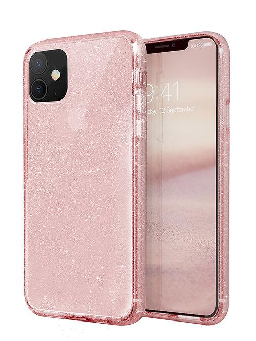Чехол Uniq для iPhone 11, розовый
