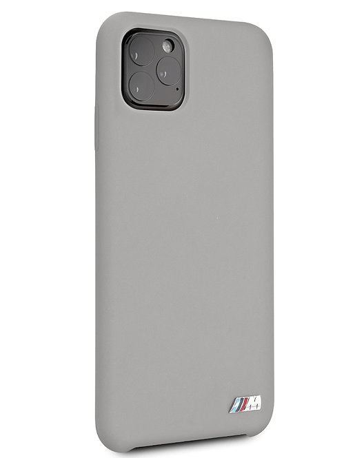 Чехол BMW для iPhone 11 Pro Max, серый