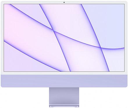 """Моноблок Apple iMac 24"""" Retina 4,5K, M1 (8-core GPU), 8 ГБ, 256 ГБ (фиолетовый)"""