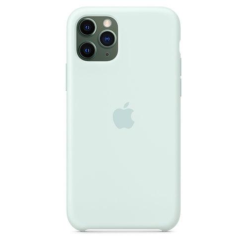 Силиконовый чехол для iPhone 11 Pro, цвет «морская пена»
