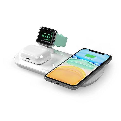 Зарядная станция 3 в 1: iPhone, Apple Watch, Airpods, беспроводная, 17,5 Вт