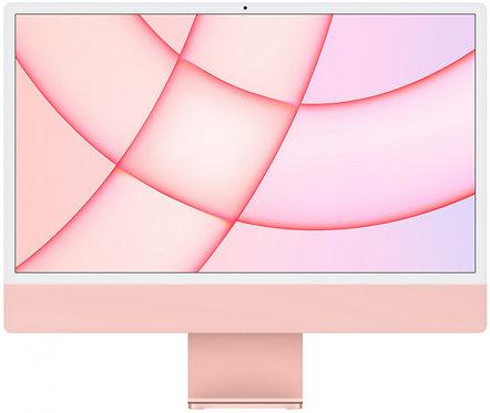 """Моноблок Apple iMac 24"""" Retina 4,5K, M1 (8-core GPU), 8 ГБ, 256 ГБ (розовый)"""