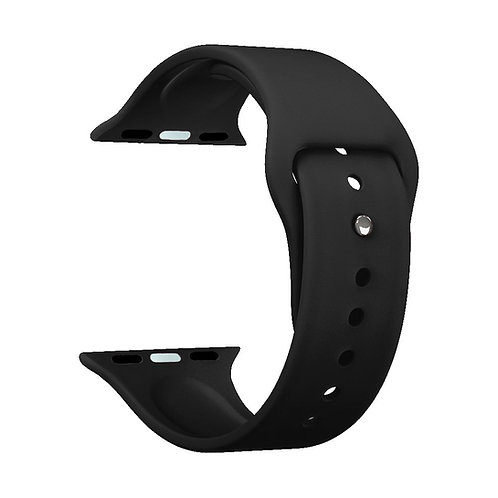 Ремешок Deppa Band Silicone для Apple Watch 42/44 mm, силиконовый, черный