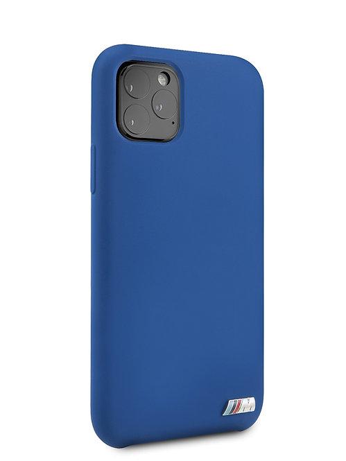 Чехол BMW для iPhone 11 Pro, синий