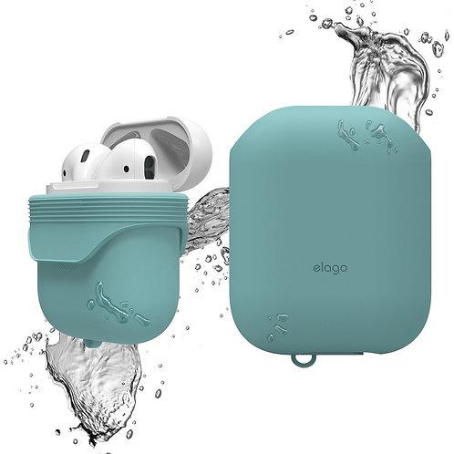 Чехол Elago Waterproof case для AirPods, голубой