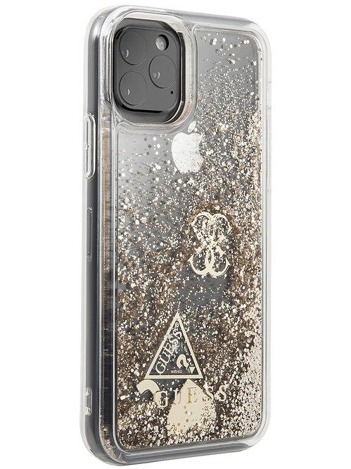 Чехол Guess для iPhone 11 Pro, золотой