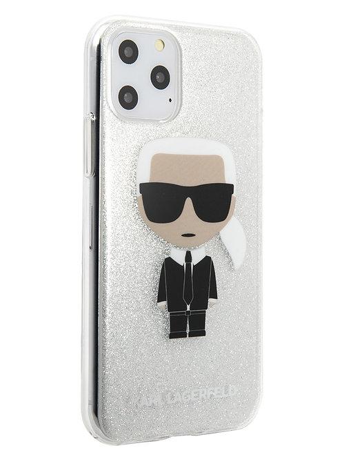 Чехол Karl Lagerfeld для iPhone 11 Pro, прозрачный