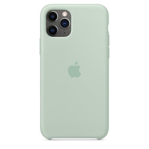 Силиконовый чехол для iPhone 11 Pro Max, цвет «голубой берилл»