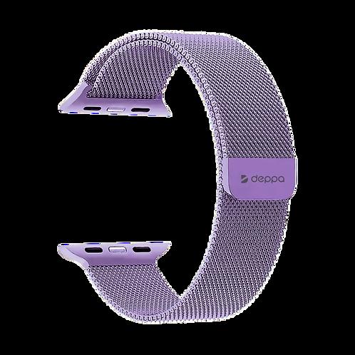 Ремешок Band Mesh для Apple Watch 38/40 mm, нержавеющая сталь