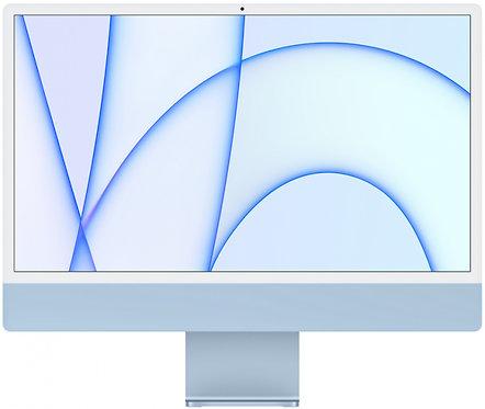 """Моноблок Apple iMac 24"""" Retina 4,5K, M1 (8-core GPU), 8 ГБ, 256 ГБ (синий)"""