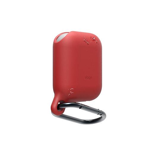 Чехол Elago Waterproof hang case для AirPods, красный