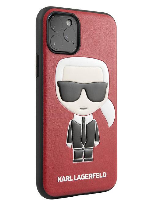 Чехол Karl Lagerfeld для iPhone 11 Pro, красный
