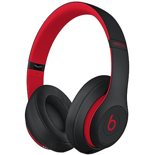 Беспроводные наушники с микрофоном Beats Studio3 Wireless Defiant Black/Red