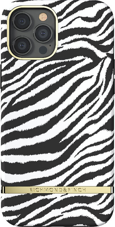 Richmond & Finch / Чехол для iPhone 12 Pro Max (6.7) SS21 Zebra