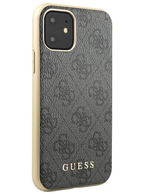 Чехол Guess для iPhone 11, серый