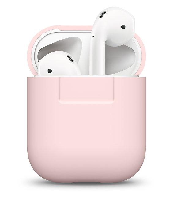 Чехол Elago Silicone case для AirPods, розовый