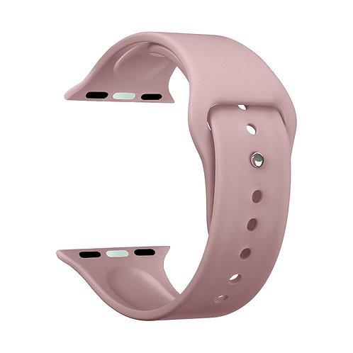 Ремешок Deppa Band Silicone для Apple Watch 38/40 mm, силиконовый, розовый
