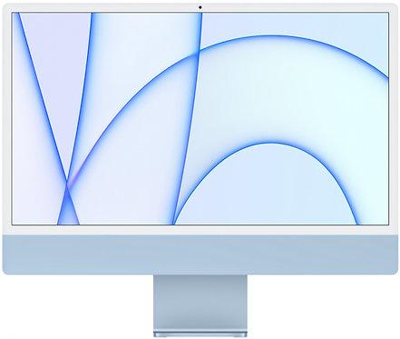 """Моноблок Apple iMac 24"""" Retina 4,5K, M1 (7-core GPU), 8 ГБ, 256 ГБ (синий)"""