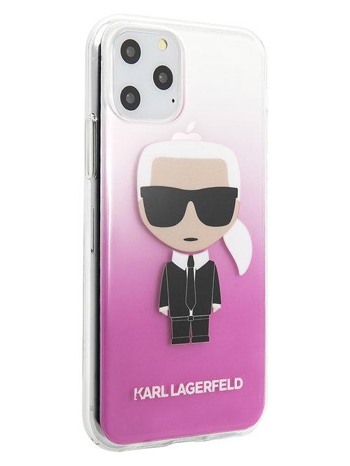 Чехол Karl Lagerfeld для iPhone 11 Pro, розовый