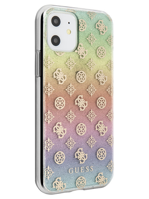 Чехол Guess для iPhone 11, прозрачный