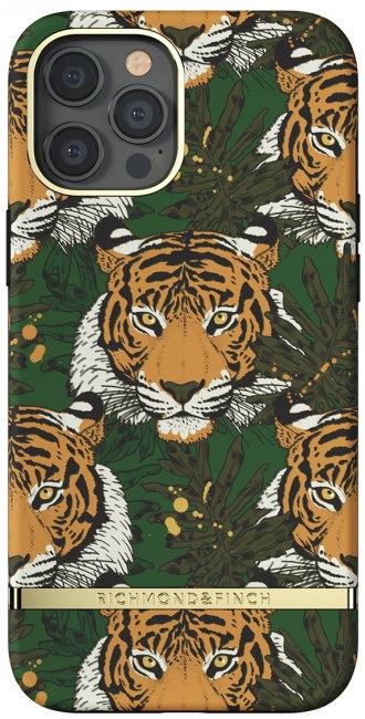 Richmond & Finch / Чехол для iPhone 12/12 Pro (6.1) SS21 Green Tiger