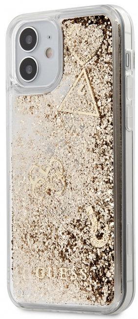 Пластиковый чехол-накладка для iPhone 12 mini Guess Liquid Gli