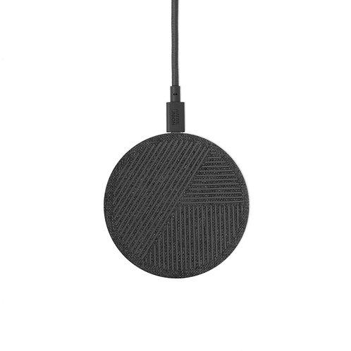 БЗУ DROP стандарта Qi, мощность 10W,  цвет: серый   DROP-GRY-FB