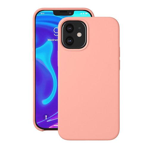 Накладка Deppa Liquid Silicone для Apple iPhone 12 mini, розовый, картон   87710