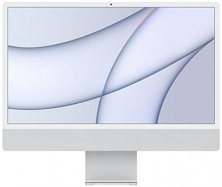"Моноблок Apple iMac 24"" Retina 4,5K, M1 (8-core GPU), 8 ГБ, 256 ГБ (серебристый)"
