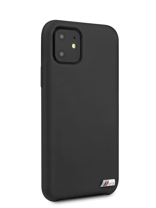 Чехол BMW для iPhone 11, черный