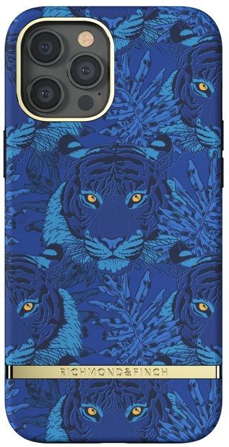 Richmond & Finch / Чехол для iPhone 12 Pro Max (6.7) SS21 Blue Tiger