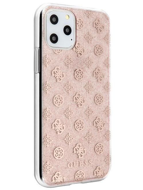 Чехол Guess для iPhone 11 Pro, розовый
