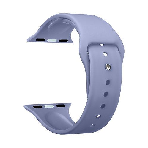 Ремешок Deppa Band Silicone для Apple Watch 42/44 mm, силиконовый, лавандовый