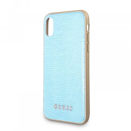 Чехол Guess для iPhone X/Xs, голубой