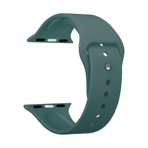 Ремешок Deppa Band Silicone для Apple Watch 38/40 mm, силиконовый, зеленый