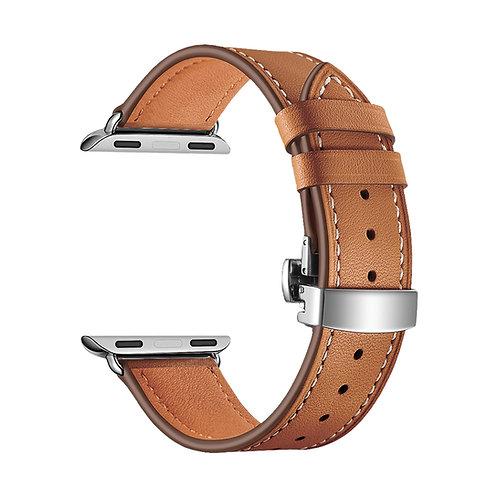 Ремешок Lyambda Annet Mancini кожаный для Apple Watch 42/44 mm, Brown