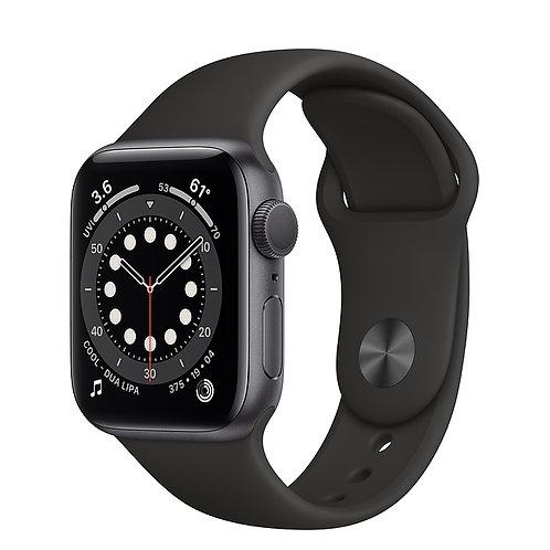 Apple Watch S6 44mm Корпус из алюминия цвета «серый космос» Спортивный ремешок