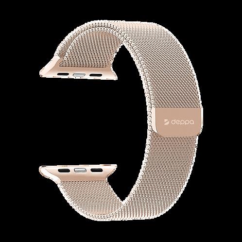 Ремешок Band Mesh для Apple Watch 42/44 mm, нержавеющая сталь