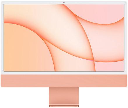 "Моноблок Apple iMac 24"" Retina 4,5K, M1 (8-core GPU), 8 ГБ, 256 ГБ (оранжевый)"