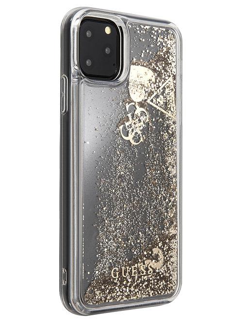 Чехол Guess для iPhone 11 Pro Max, золотой