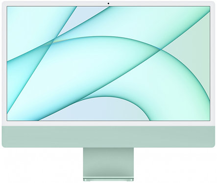 "Моноблок Apple iMac 24"" Retina 4,5K, M1 (8-core GPU), 8 ГБ, 256 ГБ (зеленый)"