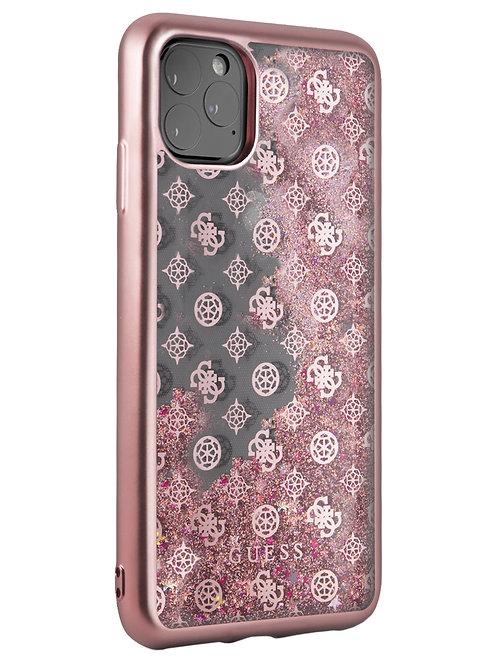 Чехол Guess для iPhone 11 Pro Max, розовый