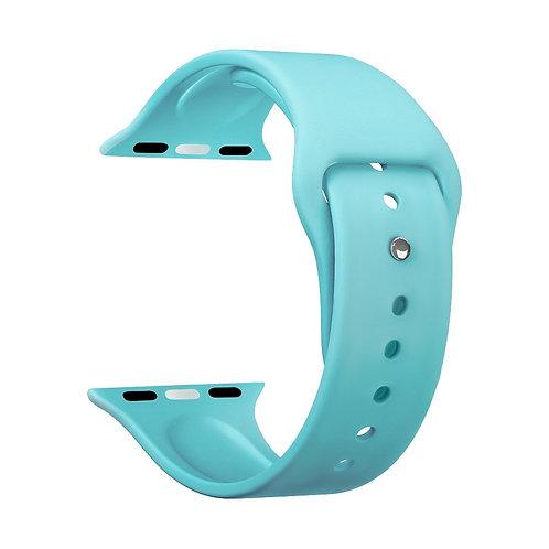 Ремешок Deppa Band Silicone для Apple Watch 38/40 mm, силиконовый, мятный