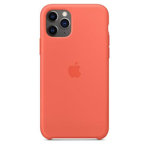 Силиконовый чехол для iPhone 11 Pro Max, цвет «спелый клементин»
