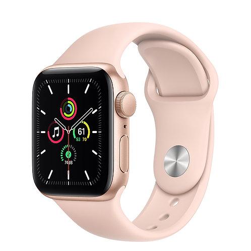 Apple Watch SE 40mm Корпус из алюминия золотого цвета Спортивный ремешок