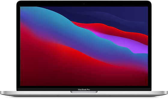 "Apple MacBook Pro 13"" (M1, 2020) 8 ГБ, 512 ГБ SSD, Touch Bar, серебристый"